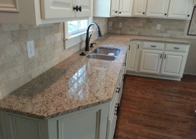 Natural granite countertops at Blue Coral Stoneworks in  Greenville, SC